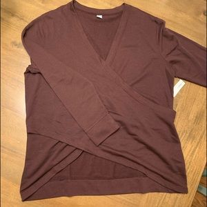 NWT Old Navy Active Crisscross Shirt
